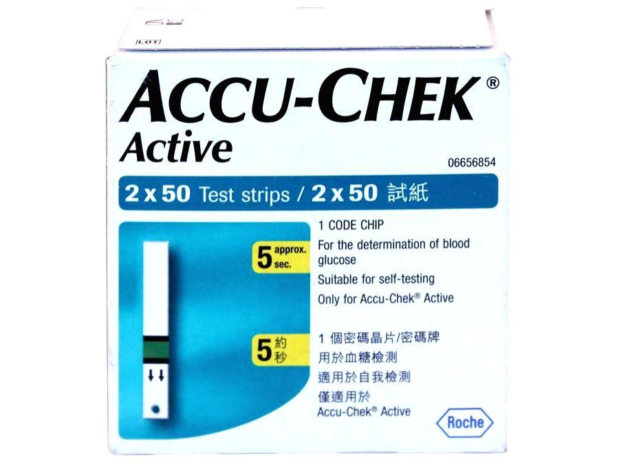 Accu-chek Glucometer.