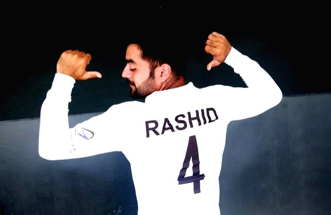 Ace leg-spinner Rashid Khan, who is captaining Afghanistan in the one-off Test against Bangladesh at the Zahur Ahmed Chowdhury Stadium, has became the youngest ever player to lead a Test side. - Rashid Khan