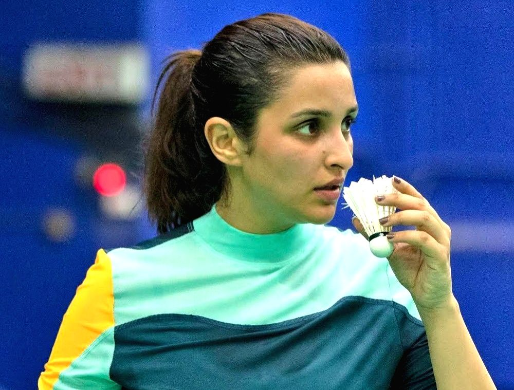"""Ace shuttler Saina Nehwal on Monday wished luck to actress Parineeti Chopra as she will soon start shooting for the former's biopic. """"Looking forward to this journey together! My best wishes to the team 'Saina Nehwal Biopic',"""" Nehwal wrote. Along wit - Parineeti Chopra"""