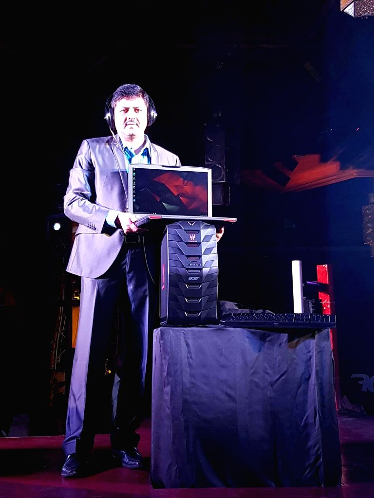Acer India's senior director - consumer business, Chandrahas Panigrahi launched Acer Predator series gaming devices including Predator 17 notebook and Predator G3 computer on Wednesday.