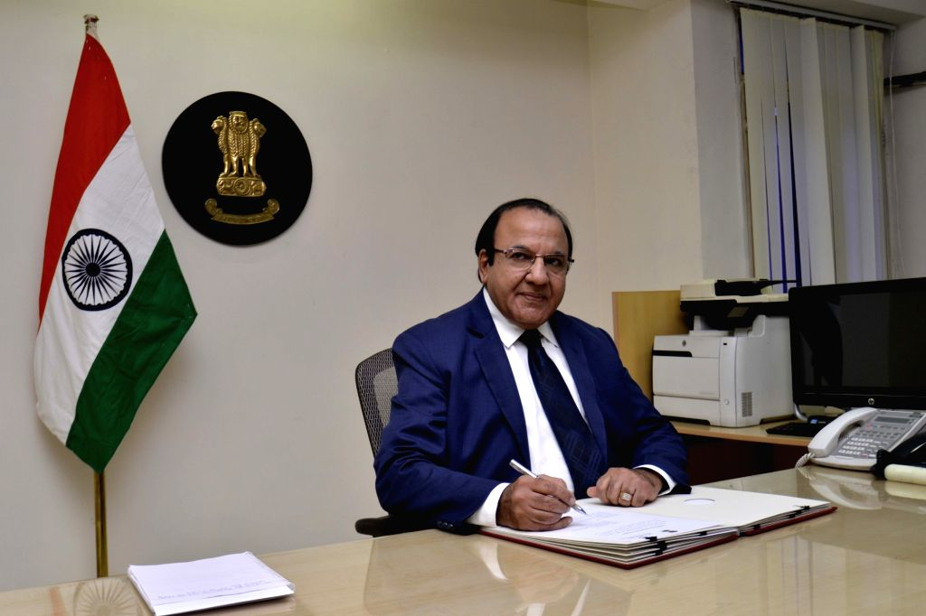 Achal Kumar Joti takes charge as the Chief Election Commissioner of India (CEC), in New Delhi on July 6, 2017. - Achal Kumar Joti