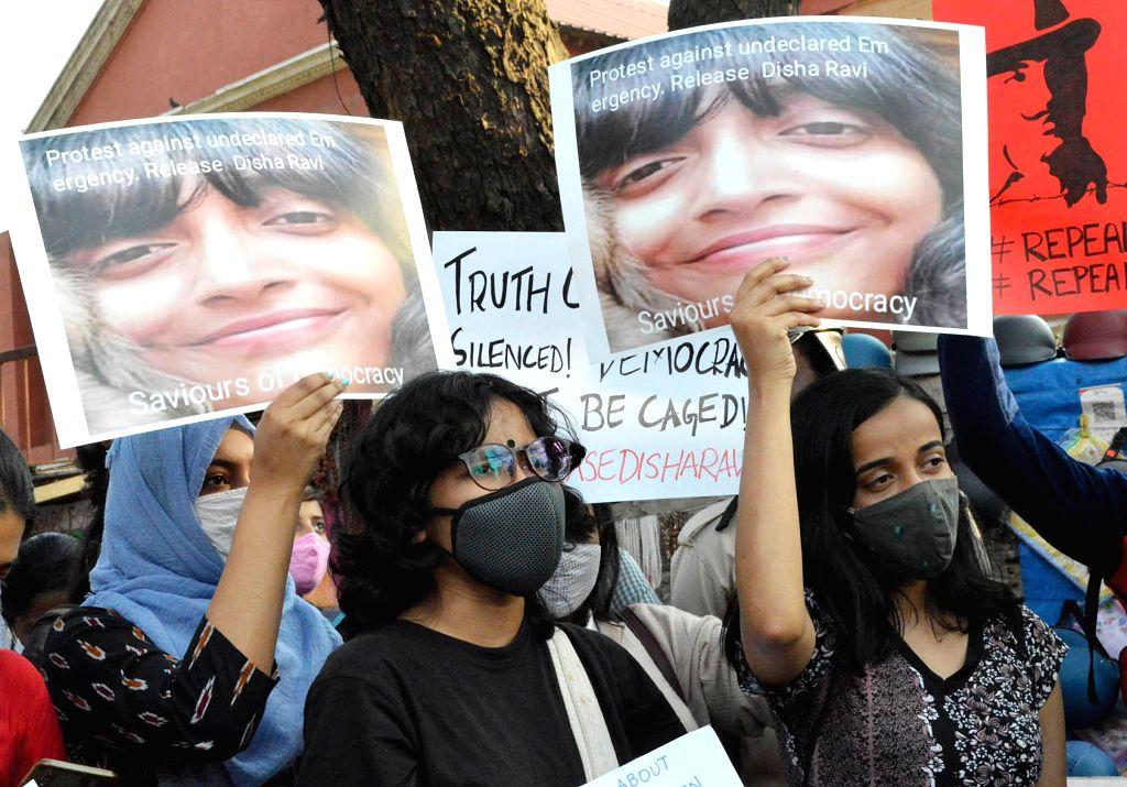 Activists demand immediate release of Disha Ravi
