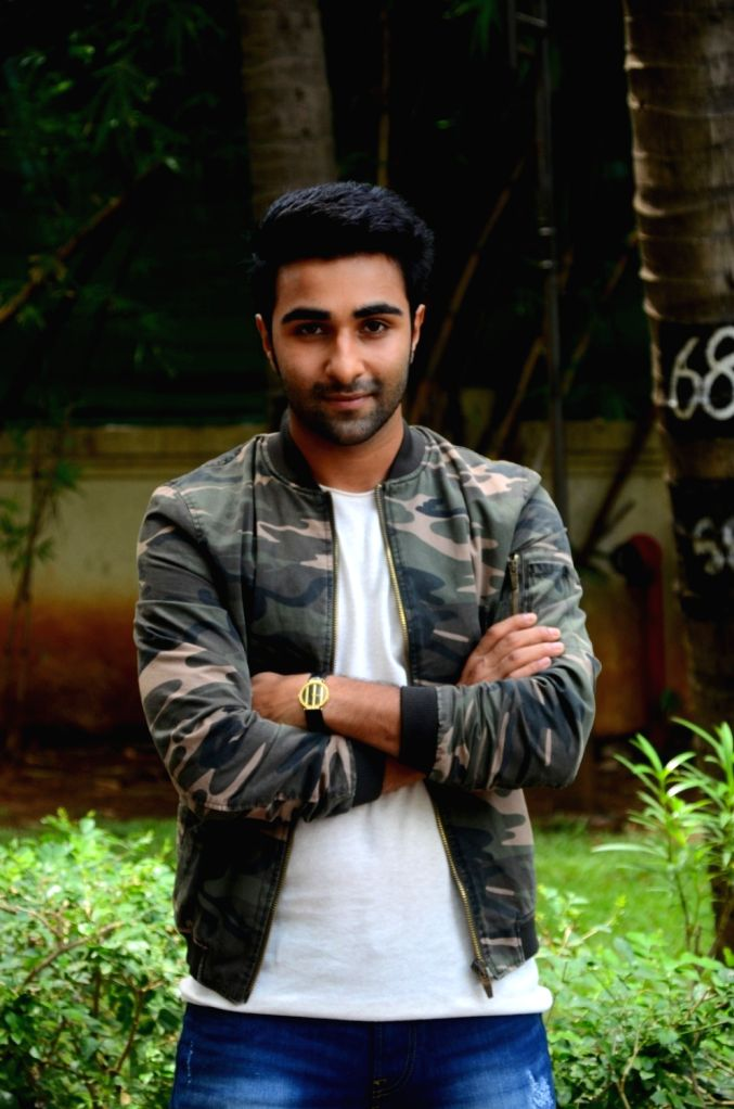 "Actor Aadar Jain during the promotion of his upcoming film ""Qaidi Band"" in Mumbai on Aug 11, 2017. - Aadar Jain"