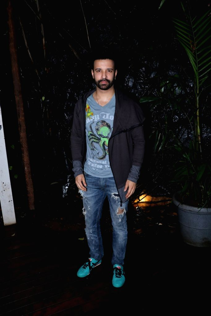 Actor Aamir Ali at Pearl V Puri birthday celebration in Mumbai on July 10, 2018. - Aamir Ali