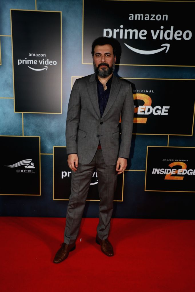 "Actor Aamir Bashir during the launch of upcoming web series ""Inside Edge Season 2"" in Mumbai on Dec 4, 2019. - Aamir Bashir"