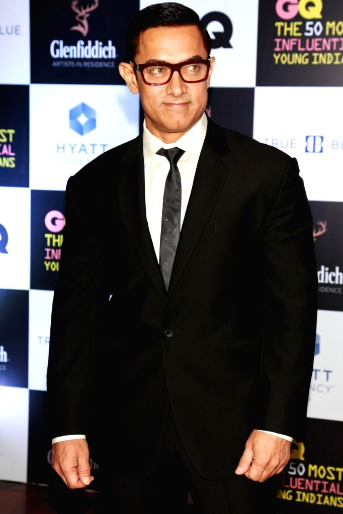 """Actor Aamir Khan at the Red Carpet of """"The Most Influential Young Indians of 2016"""" organized by GQ, in New Delhi on July,02,21016 - Aamir Khan"""