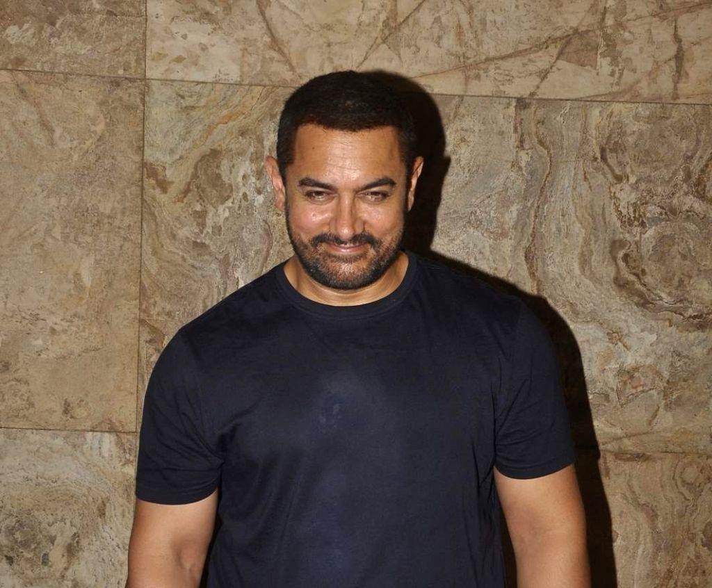 :Actor Aamir Khan. (File Photo: IANS).