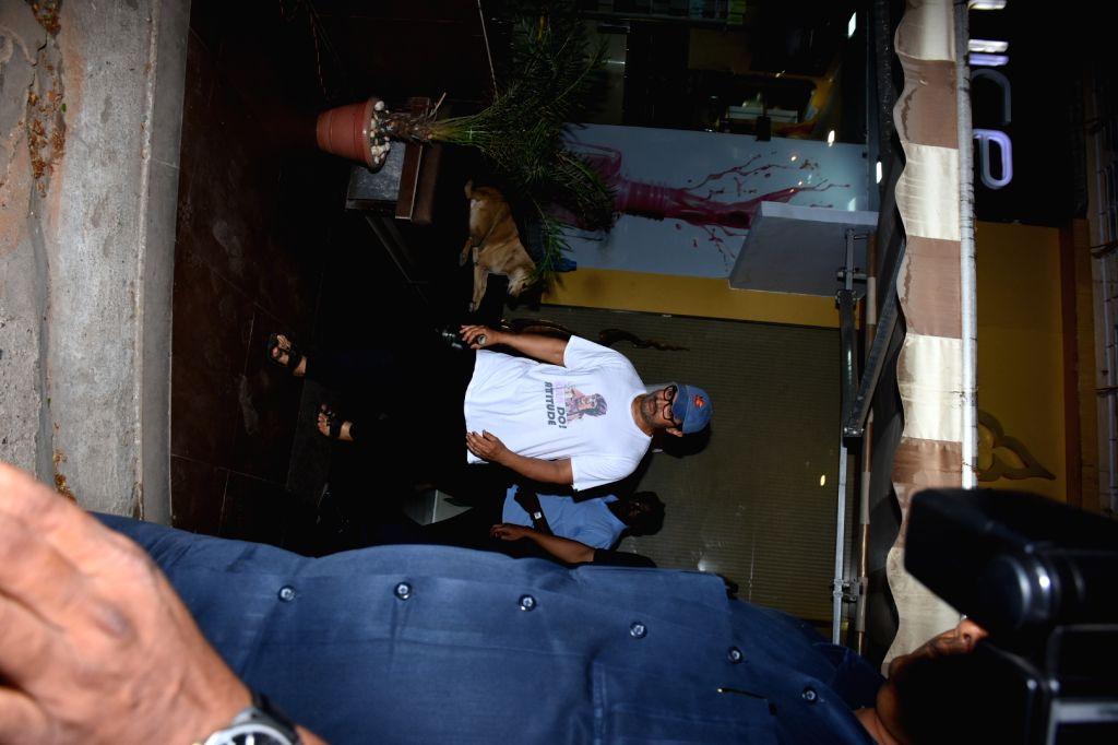 Actor Aamir Khan seen in Mumbai's Bandra, on May 8, 2019. - Aamir Khan