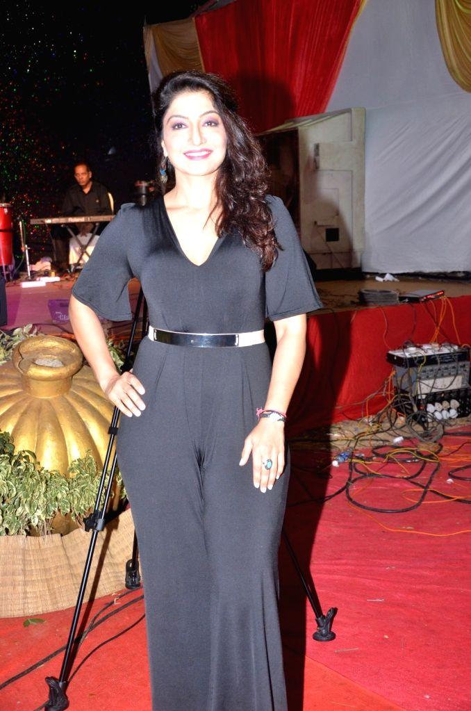 Actor Aarti Nagpal during Bharat Ikon Award in Mumbai, on Nov 28, 2016. - Aarti Nagpal