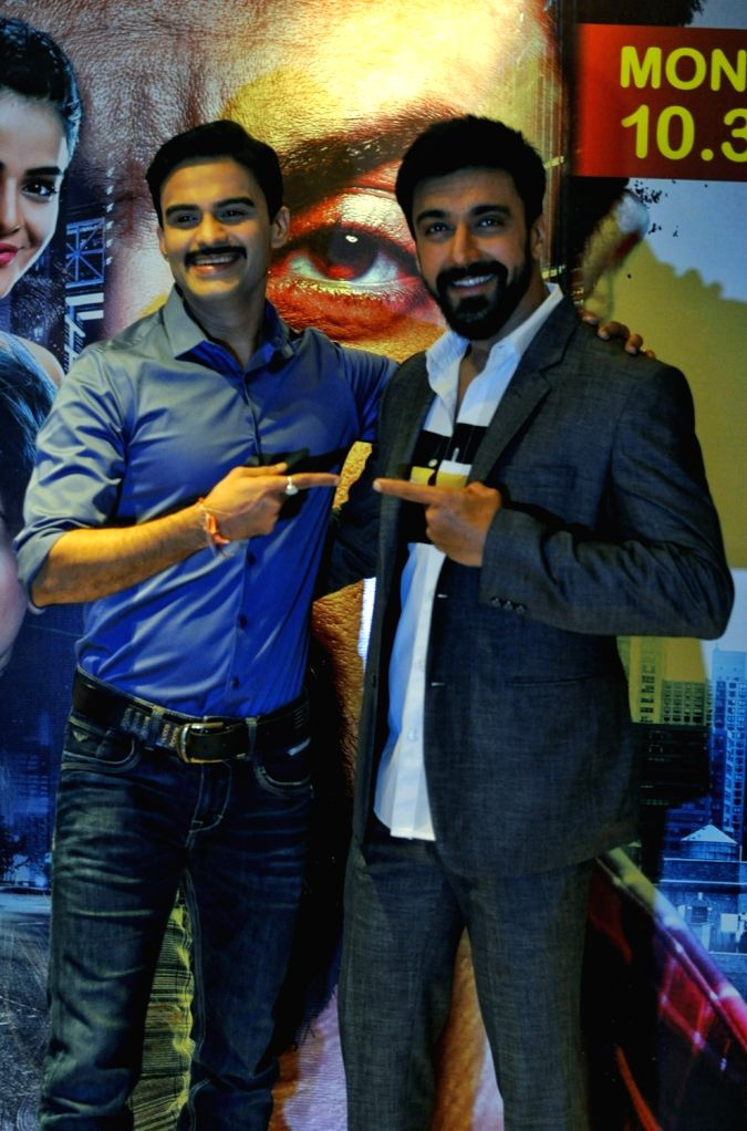 "Actor Aashish Chaudhary and Amit Dolawat during a press conference regarding ""Dev 2"" in New Delhi, on June 30, 2018. - Aashish Chaudhary"