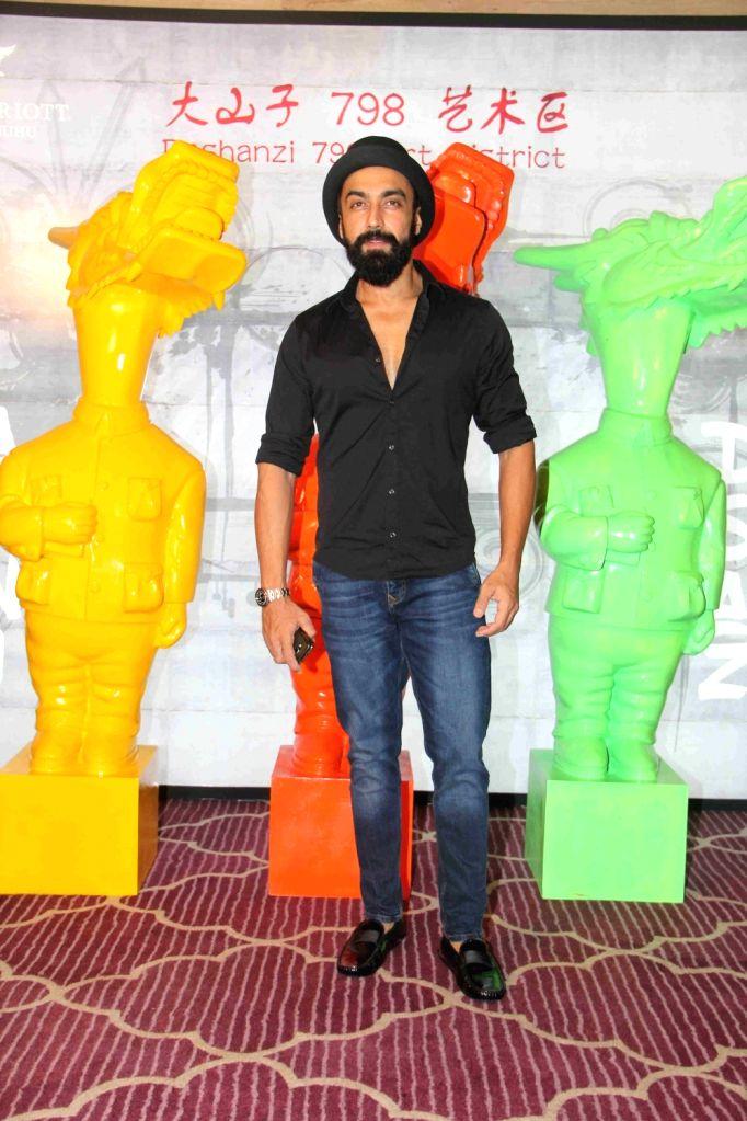 Actor Aashish Chaudhary during the Krishika Lull`s party, in Mumbai on July 2, 2016. - Aashish Chaudhary