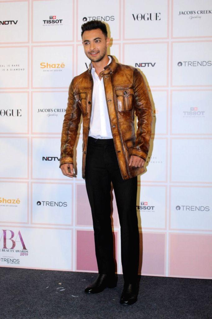 Actor Aayush Sharma at 10th Vogue Beauty Awards in Mumbai on Sep 26, 2019. - Aayush Sharma