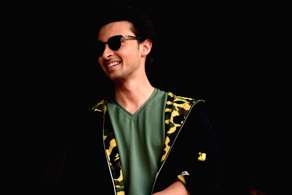 "Actor Aayush Sharma during the promotion of his upcoming film ""Loveratri"" in Mumbai on Sept 8, 2018. - Aayush Sharma"