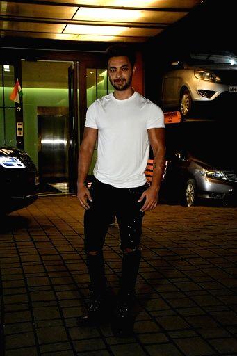 Actor Aayush Sharma seen at Bandra in Mumbai on Sep 18, 2020. - Aayush Sharma