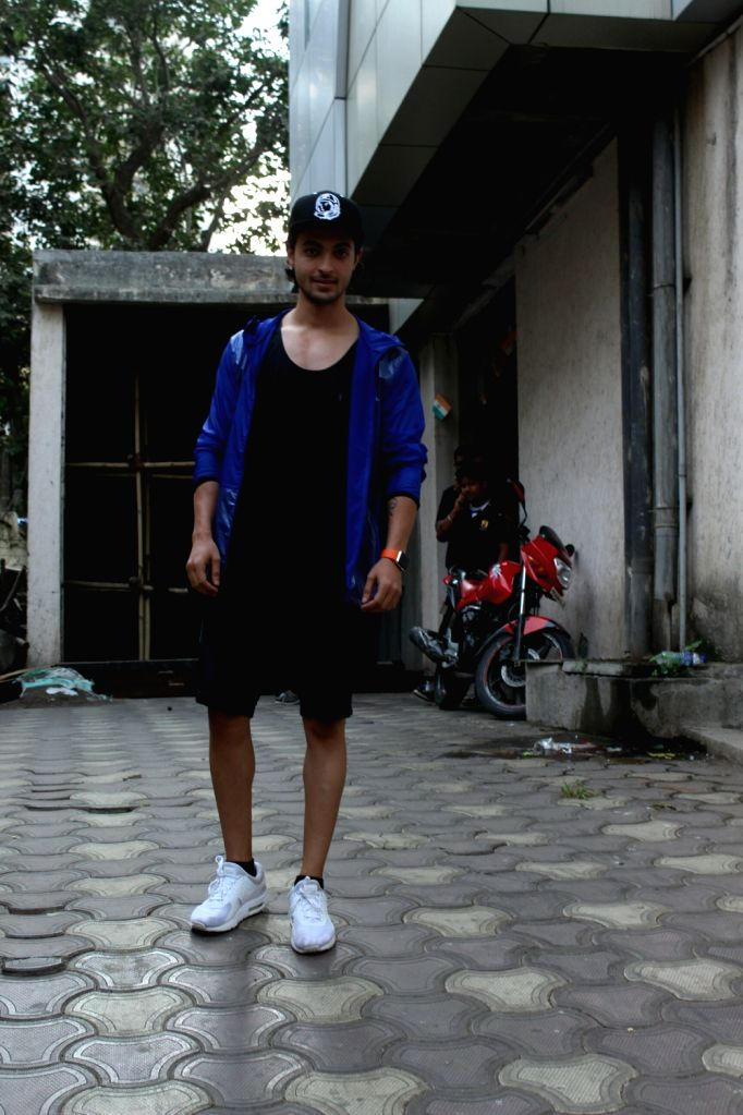 Actor Aayush Sharma seen at Mumbai's Bandra on May 25, 2018. - Aayush Sharma