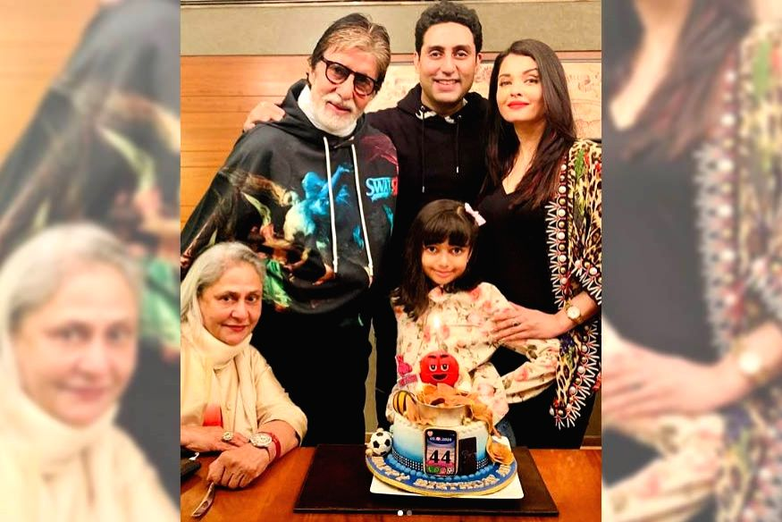 """Actor Abhishek Bachchan turned 44 on Wednesday, and the """"Bunty aur Bubbly"""" actor was showered with love, both by tinsel town crowd and Tweeple. His wife Aishwarya Rai Bachchan shared two pictures of her hubby on social media. - Abhishek Bachchan and Aishwarya Rai Bachchan"""