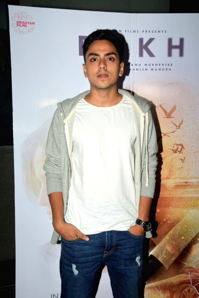 "Actor Adarsh Gourav during the screening of their upcoming film ""Rukh"" in Mumbai on Oct 21, 2017. - Adarsh Gourav"