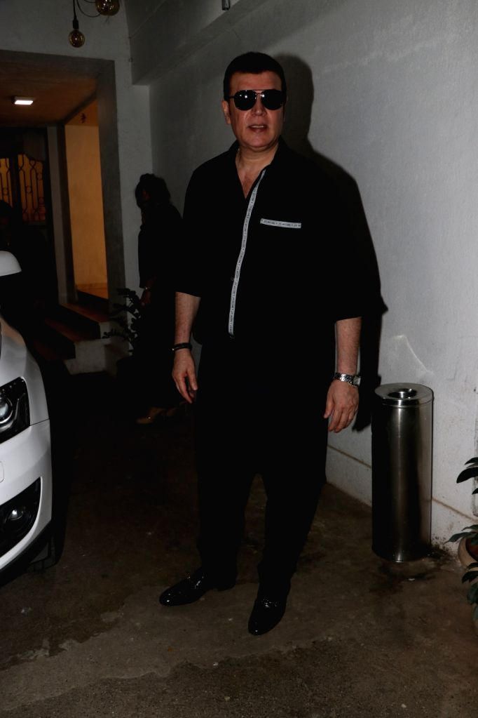 "Actor Aditya Pancholi at the special screening of her upcoming ""Satellite Shankar"" in Mumbai on Nov 6, 2019. - Aditya Pancholi"