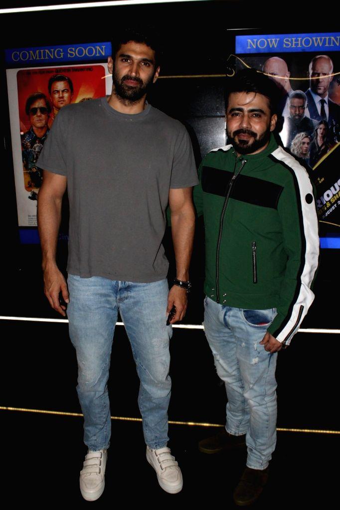 "Actor Aditya Roy Kapoor at the special screening of his upcoming ""Mushkil"" in Mumbai on Aug 8, 2019. - Aditya Roy Kapoor"