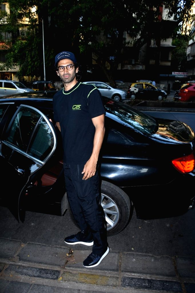 Actor Aditya Roy Kapoor seen at the office of Vishesh films in Mumbai, on May 25, 2019. - Aditya Roy Kapoor