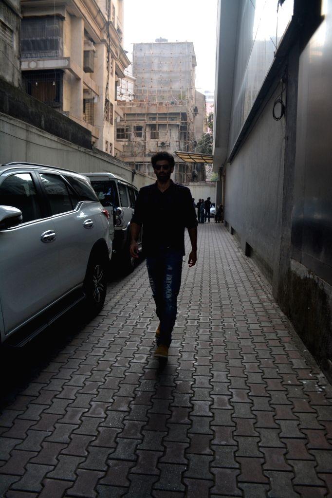 Actor Aditya Roy Kapoor spotted at vishesh films office in bandra in Mumbai on Feb 4, 2019. - Aditya Roy Kapoor