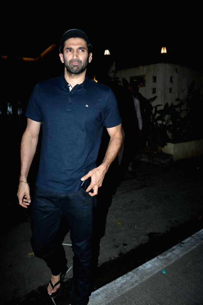 Actor Aditya Roy Kapur seen at Mumbai's Bandra on Jan 3, 2019. - Aditya Roy Kapur