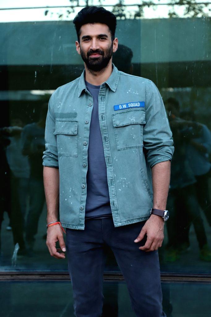 Actor Aditya Roy Kapur seen at the office of Luv Films, in Mumbai on Feb 4, 2020. - Aditya Roy Kapur