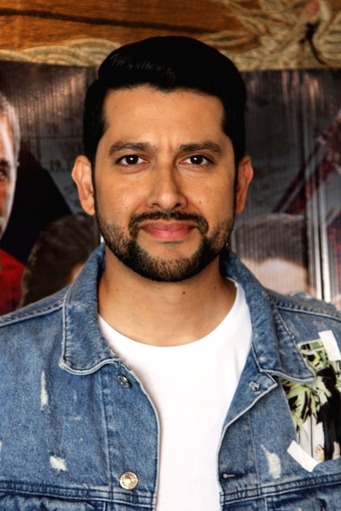 "Actor Aftab Shivdasani during a press conference to promote his film ""Setters"" in New Delhi, on 25 April, 2019. - Aftab Shivdasani"