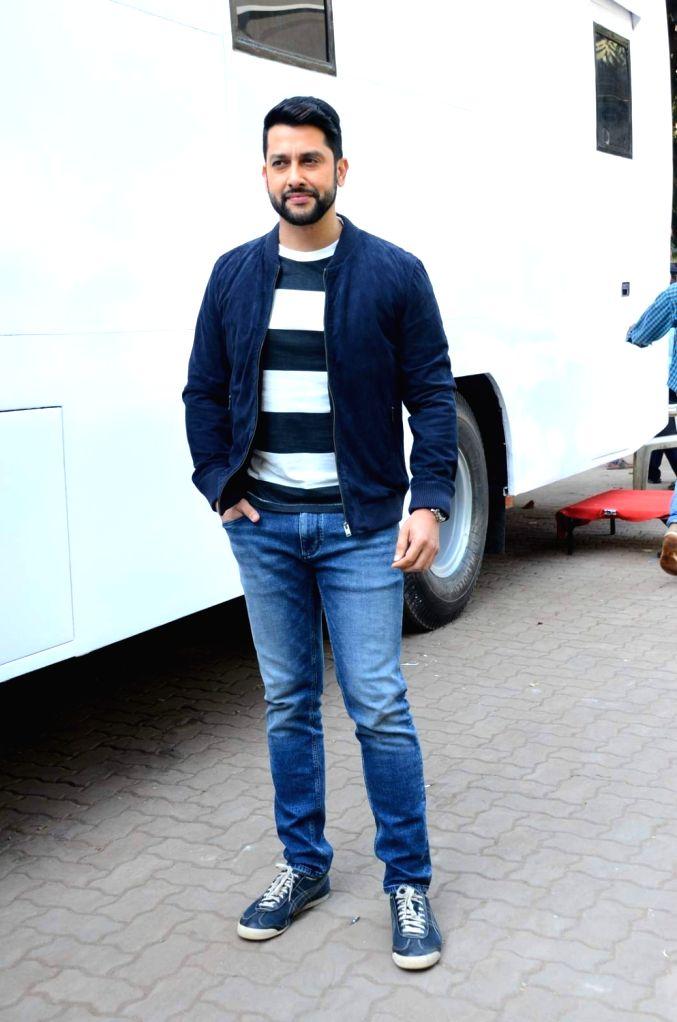 Actor Aftab Shivdasani during the promotion of film Kyaa Kool Hai Hum 3 on the sets of Star Plus television show Ye Hai Mohabbatein, in Mumbai on Jan 18, 2016. - Aftab Shivdasani
