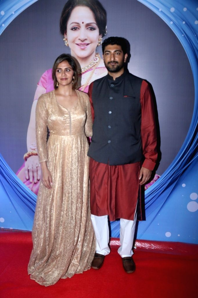 "Actor Ahana Deol along with her husband Vaibhav Vohra during the ""SYNERGY 2017"" an International Cultural Dance Festival in Mumbai on Sept 8, 2017. - Ahana Deol"