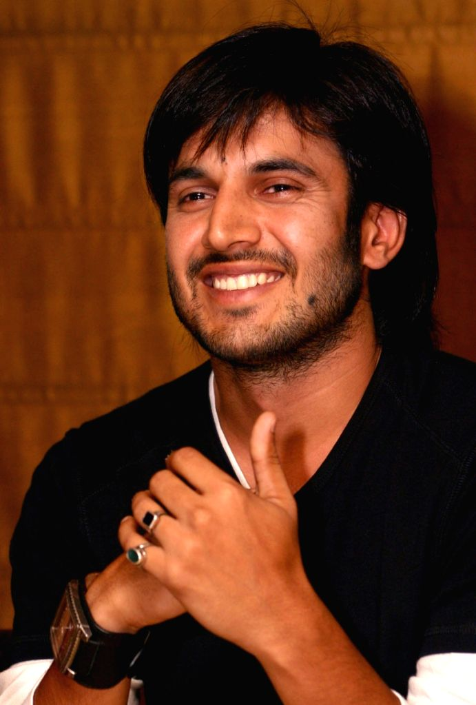 "Actor Ajay Choudhary at a press meet for the film ""Let's Dance"" in New Delhi on Tuesday 16 June 2009."