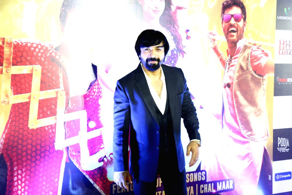Actor Ajaz Khan during the screening of film Tutak Tutak Tutiya in Mumbai on Oct. 6, 2016. - Ajaz Khan