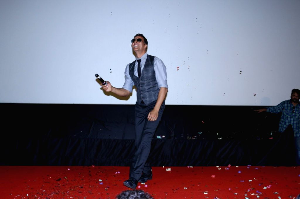 Actor Akshay Kumar during the song launch Cheez Badi Hai Mast Mast in Mumbai on March 5, 2017. - Akshay Kumar