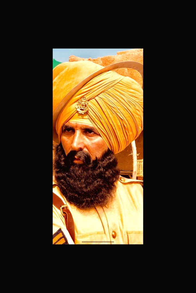 "Actor Akshay Kumar in upcoming film ""Kesari"". - Akshay Kumar"