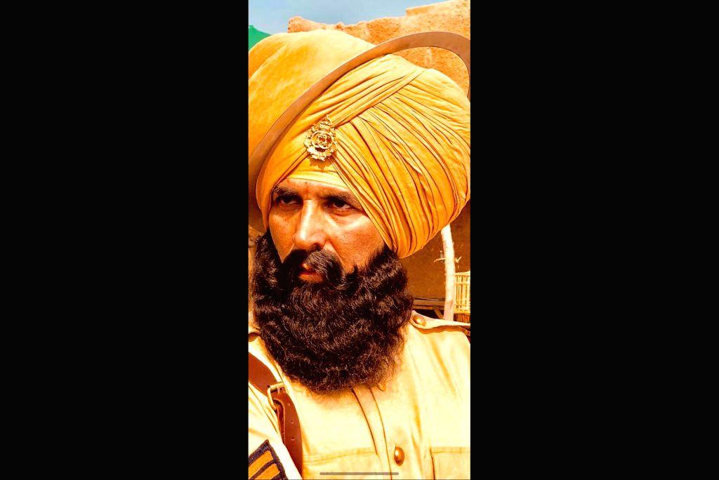"Actor Akshay Kumar in upcoming film ""Kesari"". - Akshay Kumar"