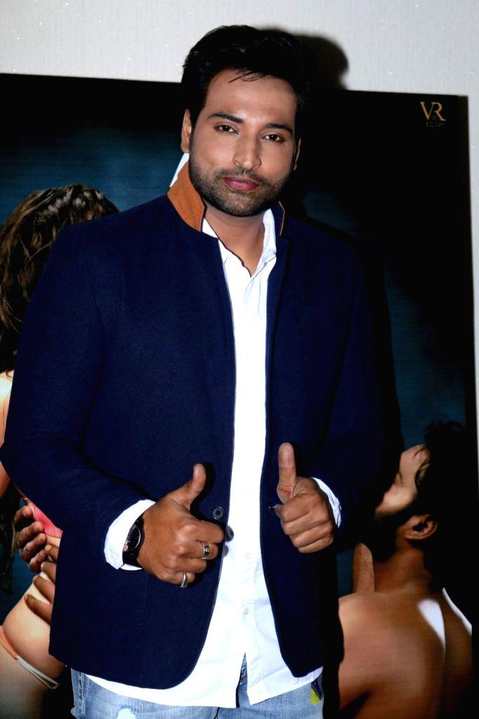 Actor Akshay Rangshahi during the song launch of film Ishq Junoon, in Mumbai, on Oct 26, 2016. - Akshay Rangshahi