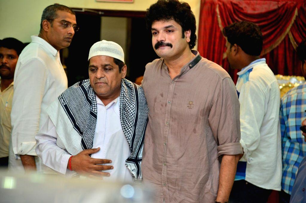 Actor Ali consoling Dasari Arun. - Ali