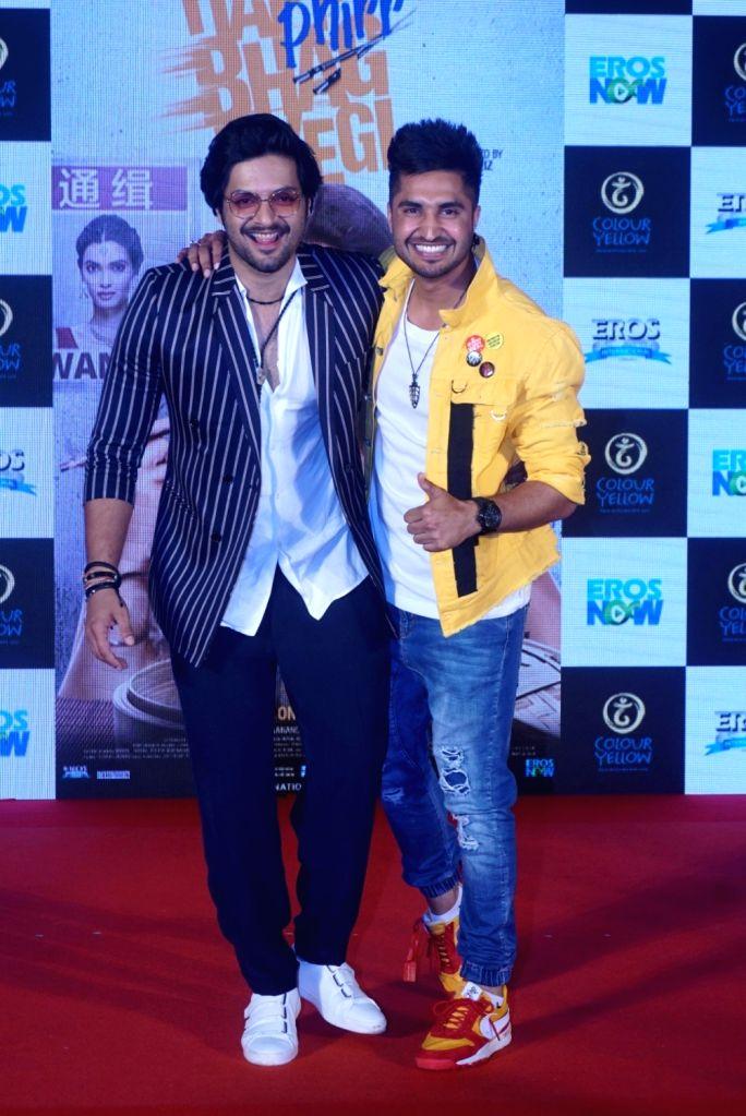 "Actor Ali Fazal and singer Jassi Gill at the trailer launch of  upcoming film ""Happy Phirr Bhag Jayegi""  in Mumbai on July 25, 2018. - Ali Fazal"