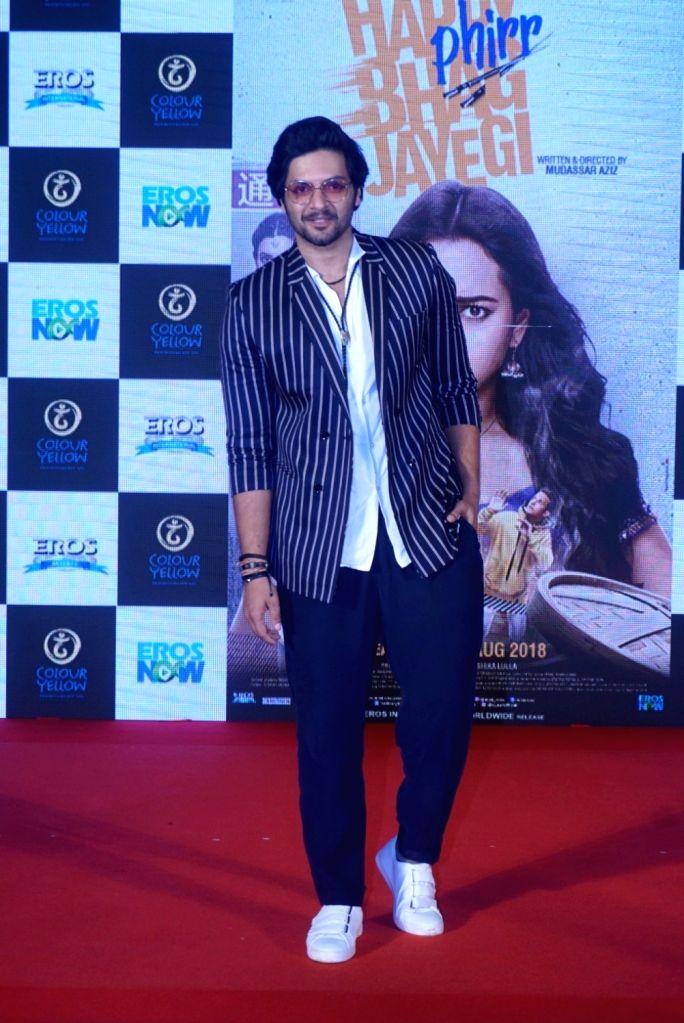 "Actor Ali Fazal at the trailer launch of his upcoming film ""Happy Phirr Bhag Jayegi""  in Mumbai on July 25, 2018. - Ali Fazal"