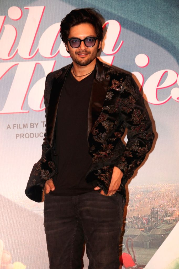 "Actor Ali Fazal at the trailer launch of his upcoming film ""Milan Talkies"" in Mumbai, on Feb 20, 2019. - Ali Fazal"