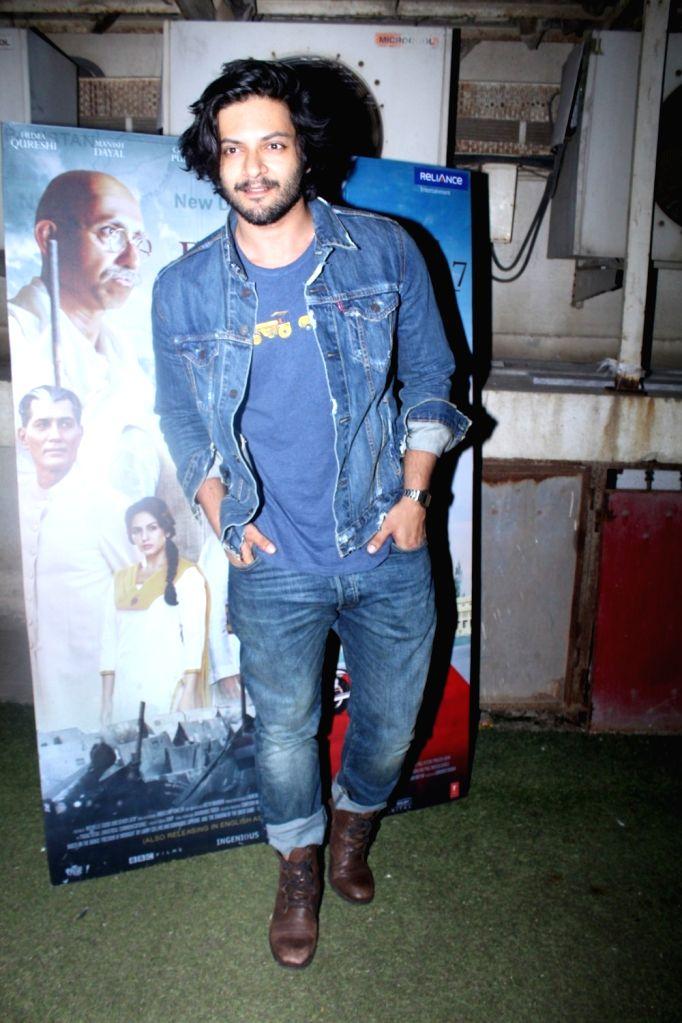 "Actor Ali Fazal during the special screening of film ""Partition: 1947"" in Mumbai on Aug 17, 2017. - Ali Fazal"