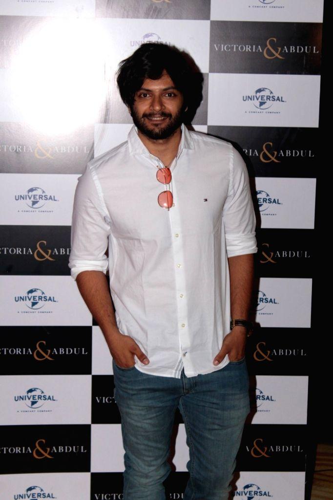 Actor Ali Fazal during the trailer launch of film Victoria and Abdul in Mumbai, on May 30, 2017. (Photo: IANS)i - Ali Fazal