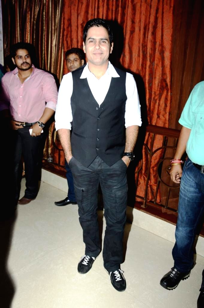 Actor Aman Verma during the music launch of film Mainu Ek Ladki Chahiye in Mumbai on Aug 11, 2014. - Aman Verma