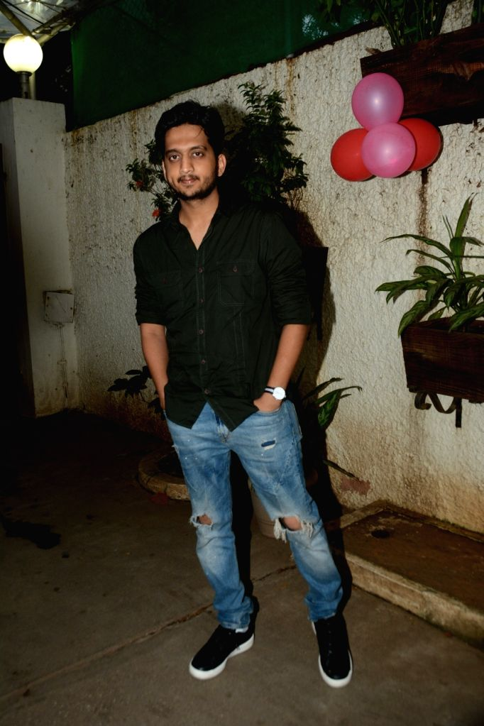 "Actor Amey Wagh at the screening of his upcoming film ""Girlfriend"" in Mumbai, on July 23, 2019. - Amey Wagh"