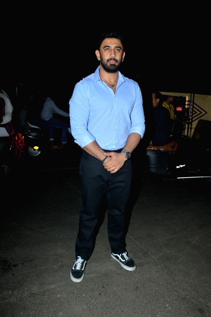 Actor Amit Sadh at celebrity trainer Namrata Purohit's song launch in Mumbai, on Feb 19, 2019. - Amit Sadh