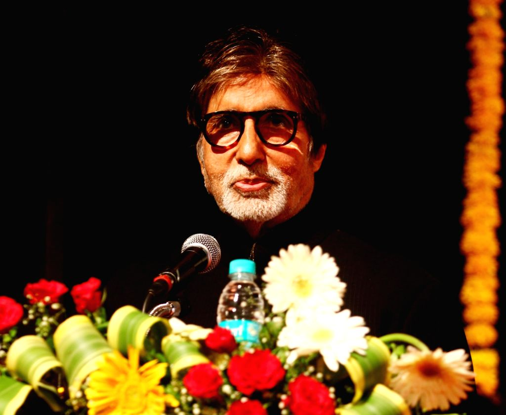 Actor Amitabh Bachchan during a campaign in Mumbai, on May 30, 2017. - Amitabh Bachchan