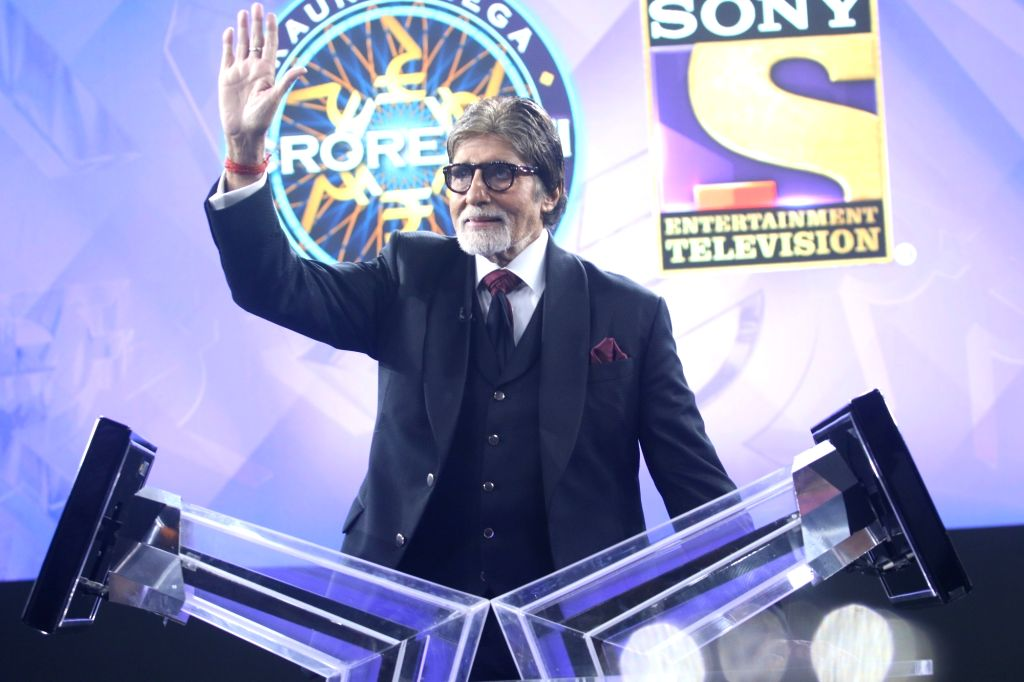 Actor Amitabh Bachchan during a press conference at the launch of 'Kaun Banega Crorepati Season 11' in Mumbai on Aug 13, 2019. (Photo: IANS) - Amitabh Bachchan