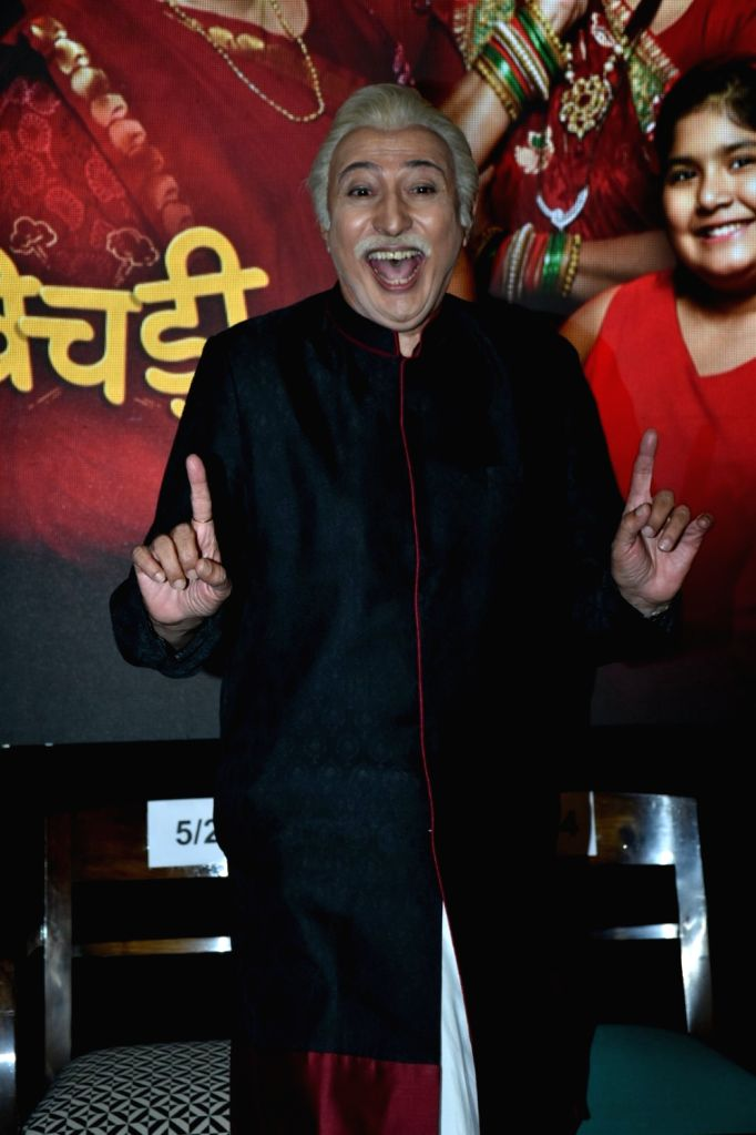 "Actor Anang Desai during a press conference to promote his upcoming television show ""Khichdi"" in Mumbai on April 3, 2018. - Anang Desai"