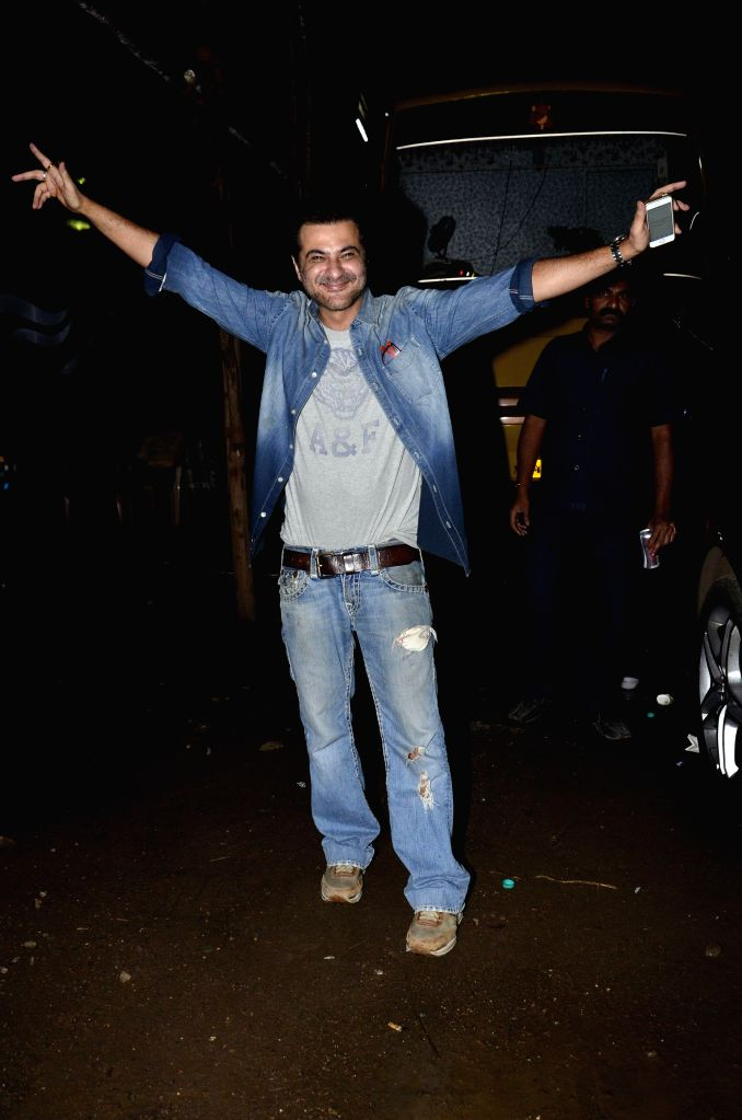 Actor and filmmaker Sanjay Kapoor during the wrap up party of film Tevar, in Mumbai, on Aug. 21, 2014. - Sanjay Kapoor