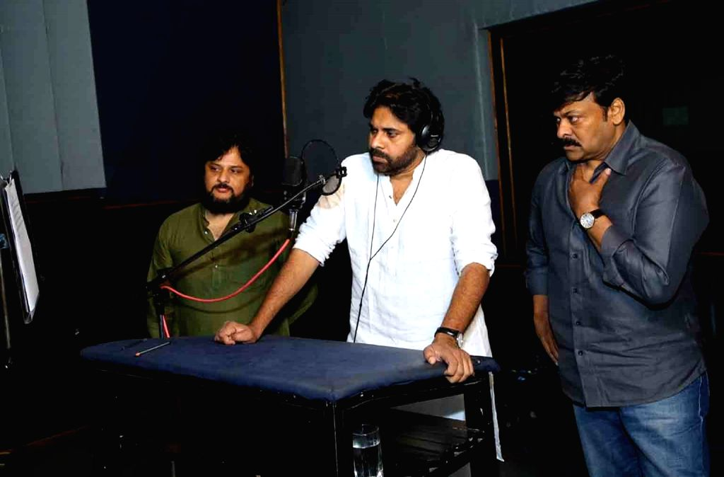 "Actor and Jana Sena Party chief Pawan Kalyan gives voice over for the teaser of the film ""Sye Raa Narasimha Reddy"" starring his brother Chiranjeevi. Directed by Surender Reddy, the film is ... - Surender Reddy and Uyyalawada Narasimha Reddy"